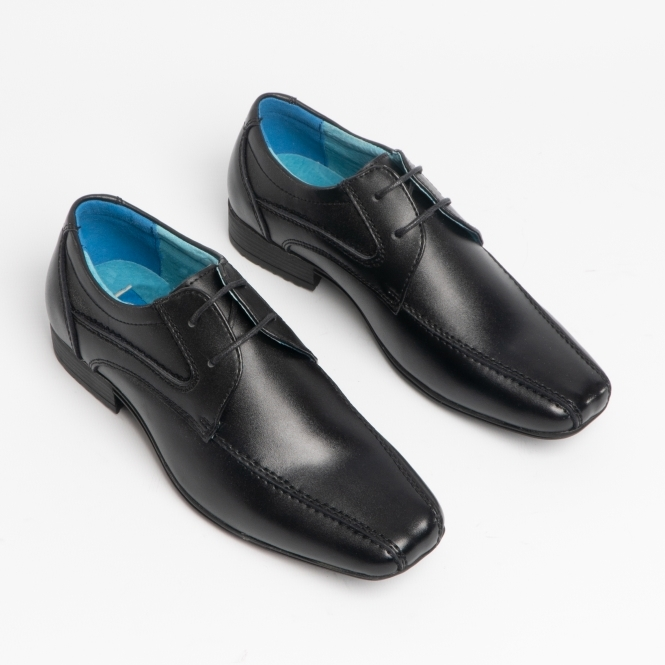 School Issue Mens Scholar Leather Lace Up Casual Oxfords