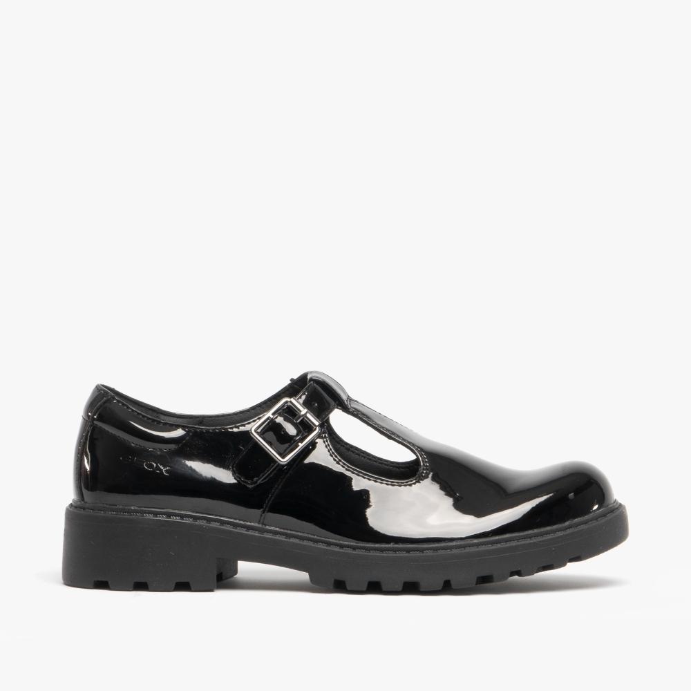 ausgereifte Technologien kauf verkauf billig für Rabatt CASEY Girls School Shoes Patent Black