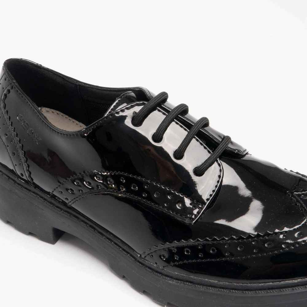 Geox JR CASEY Girls Patent Leather