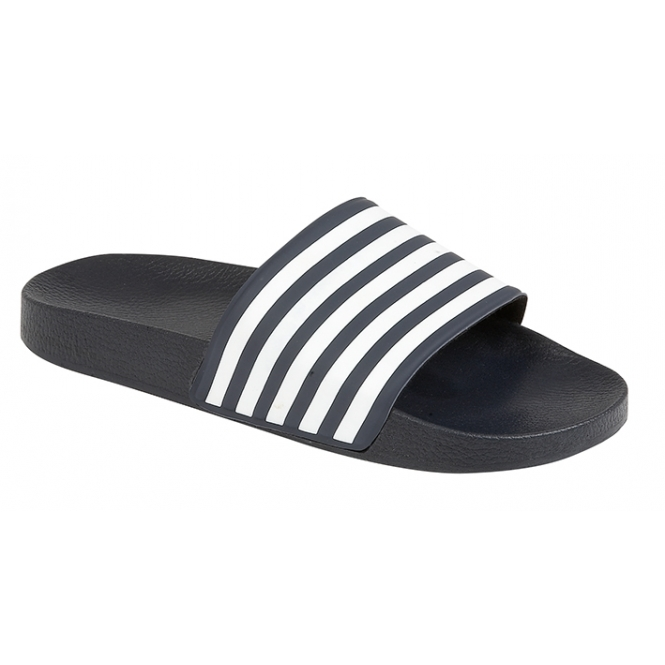 281947d75f0 HENLEY Mens Stylish Summer Flip Flops Sandals Shoes Blue White l Shumo.co.uk