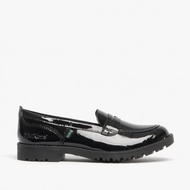 Kickers LACHLY Girls Patent Leather