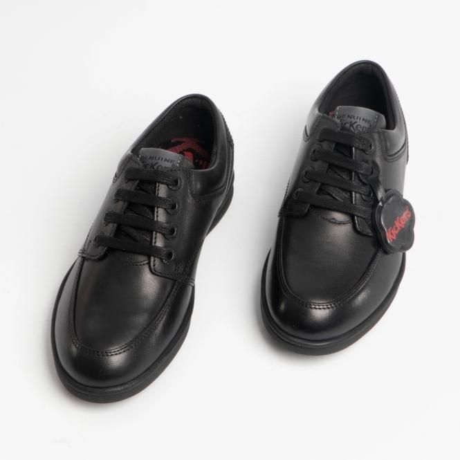 kickers shoe laces black outlet store