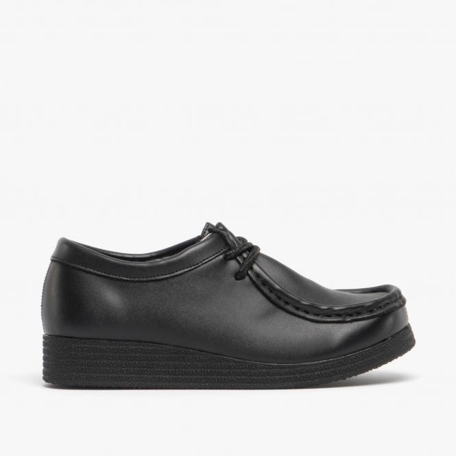 Route 21 JACE Boys Lace Up Shoes Black